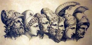Heroes of the Trojan War, via Pinterest