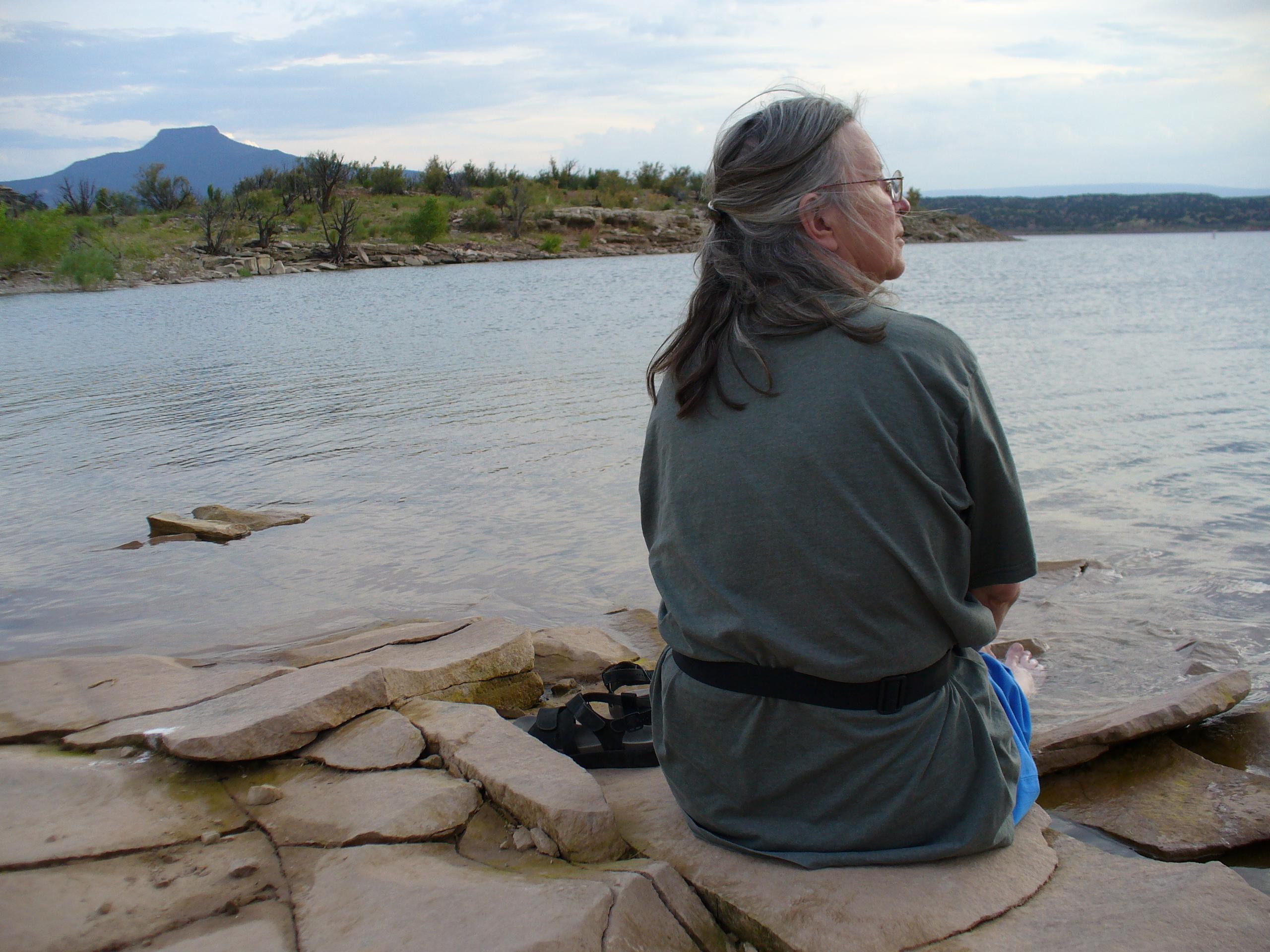 Glenda in New Mexico; C Robertson; OneAndAllWisdom.com CC2.0