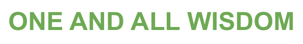 One and All Wisdom Logo