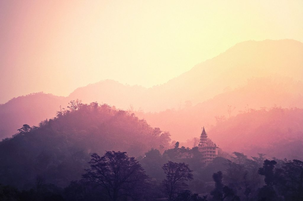 Temple, Devanath on Pixabay; CC Free