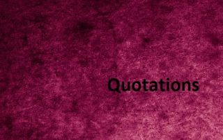 Quotations: a Source of wisdom and diversity of opinion