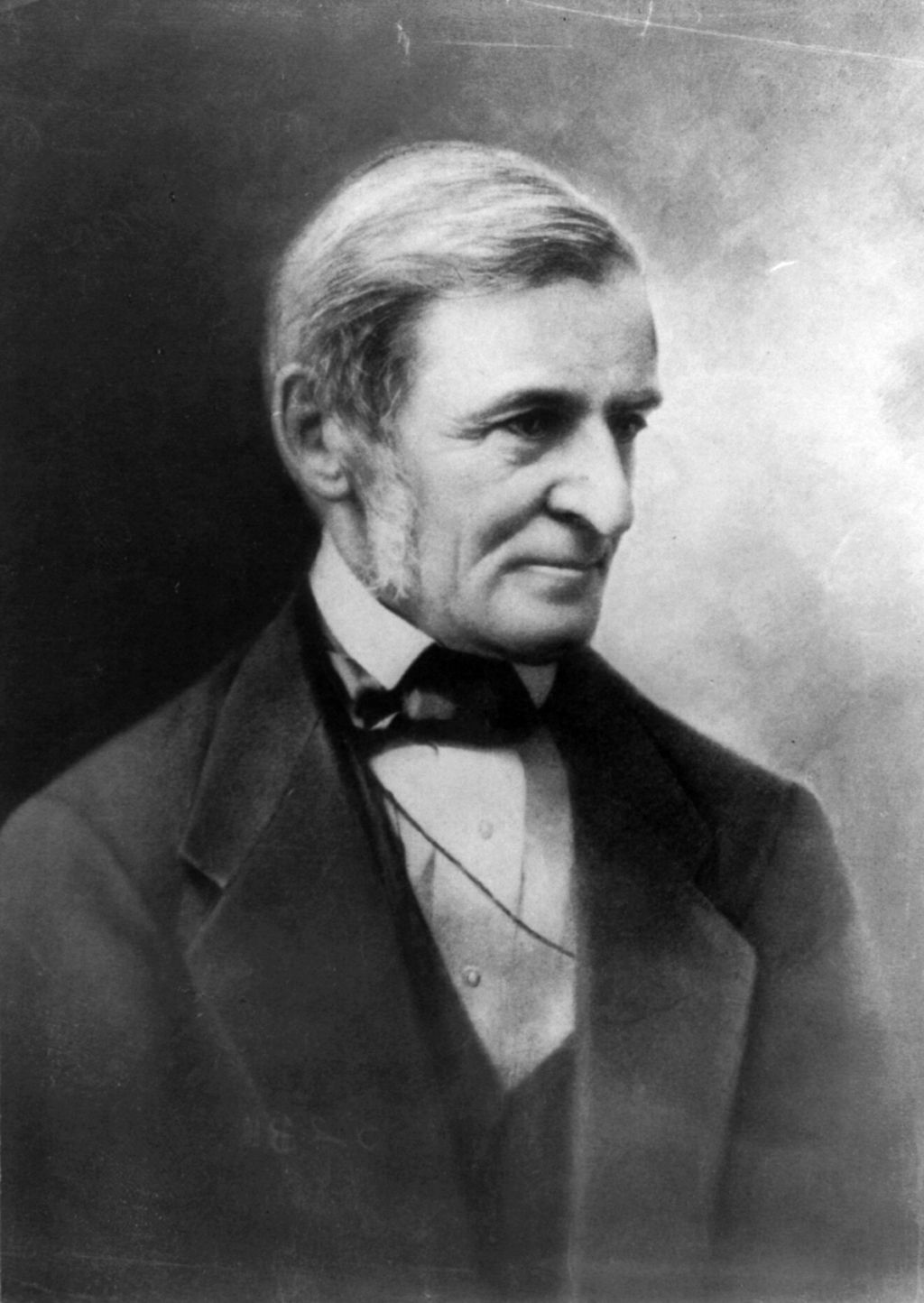 Ralph Waldo Emerson image is available from the United States Library of Congress's Prints and Photographs division. Public Domain