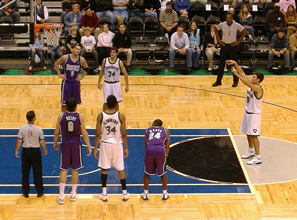 Free Throw, via Wikipedia, https://en.wikipedia.org/wiki/Key_(basketball)#/media/File:Free_throw.jpg, CC2.5
