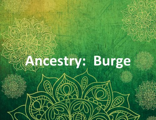 Ancestry: Burges in England Prior to American Colonization, Part 2