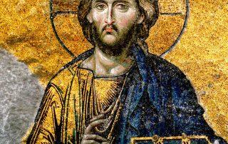 Jesus, Hagia Sophia, Istanbul